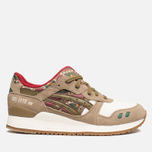 Мужские кроссовки ASICS Gel-Lyte 3 Aztec Pack Light Brown/Olive фото- 0