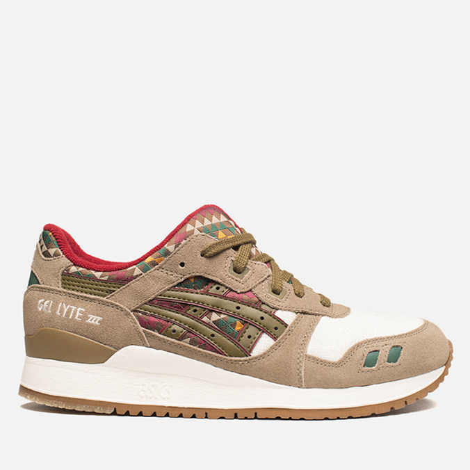 Мужские кроссовки ASICS Gel-Lyte 3 Aztec Pack Light Brown/Olive