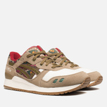 Мужские кроссовки ASICS Gel-Lyte 3 Aztec Pack Light Brown/Olive фото- 1