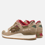 Мужские кроссовки ASICS Gel-Lyte 3 Aztec Pack Light Brown/Olive фото- 2