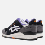 Кроссовки ASICS Gel-Lyte III Black/White/Purple фото- 2