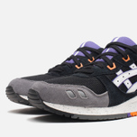 Кроссовки ASICS Gel-Lyte III Black/White/Purple фото- 5