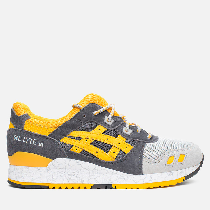 Мужские кроссовки ASICS Gel-Lyte III Grey/Gold Fusion