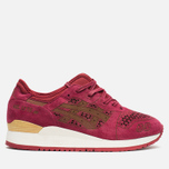 Кроссовки ASICS Gel-Lyte III Laser Cut Pack Burgundy фото- 0