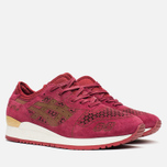 Кроссовки ASICS Gel-Lyte III Laser Cut Pack Burgundy фото- 1