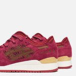 Кроссовки ASICS Gel-Lyte III Laser Cut Pack Burgundy фото- 5