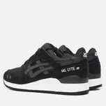 Кроссовки ASICS Gel-Lyte III Monochrome Pack Black фото- 2