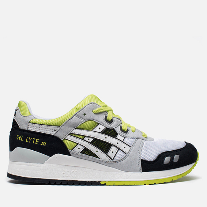 Мужские кроссовки ASICS Gel-Lyte III White/White/Black