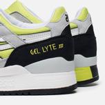 Мужские кроссовки ASICS Gel-Lyte III White/White/Black фото- 6