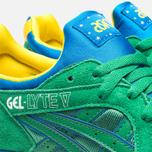 Мужские кроссовки ASICS Gel-Lyte V Brazil Pack Green/Green фото- 7