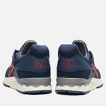 ASICS Gel-Lyte V Premium Sneakers Navy/Burgundy photo- 3
