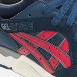 ASICS Gel-Lyte V Premium Sneakers Navy/Burgundy photo- 7