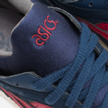 ASICS Gel-Lyte V Premium Sneakers Navy/Burgundy photo- 6