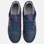 ASICS Gel-Lyte V Premium Sneakers Navy/Burgundy photo- 4
