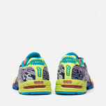 Мужские кроссовки ASICS Gel-Noosa Flash Yellow/Neon Purple/Navy фото- 3