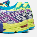 Мужские кроссовки ASICS Gel-Noosa Flash Yellow/Neon Purple/Navy фото- 5