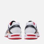 Мужские кроссовки ASICS Gel-Oberon 8 White/Black/Red фото- 3