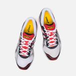 Мужские кроссовки ASICS Gel-Oberon 8 White/Black/Red фото- 4