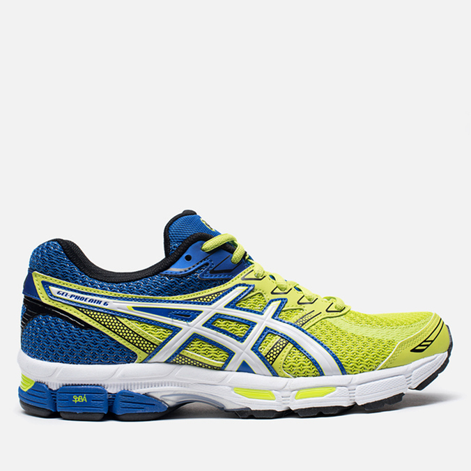 Мужские кроссовки ASICS Gel-Phoenix 6 Lime/White/Blue