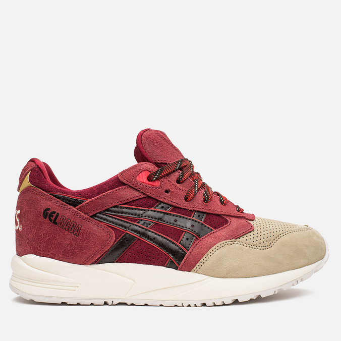 Кроссовки ASICS Gel-Saga Christmas Pack Burgundy/Dark Brown