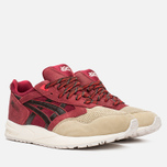 Кроссовки ASICS Gel-Saga Christmas Pack Burgundy/Dark Brown фото- 1