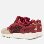 Кроссовки ASICS Gel-Saga Christmas Pack Burgundy/Dark Brown фото- 2