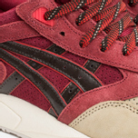 Кроссовки ASICS Gel-Saga Christmas Pack Burgundy/Dark Brown фото- 5