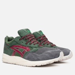 Кроссовки ASICS Gel-Saga Christmas Pack Dark Green/Burgundy фото- 1