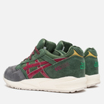 Кроссовки ASICS Gel-Saga Christmas Pack Dark Green/Burgundy фото- 2