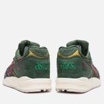 Кроссовки ASICS Gel-Saga Christmas Pack Dark Green/Burgundy фото- 3
