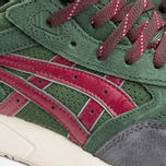 Кроссовки ASICS Gel-Saga Christmas Pack Dark Green/Burgundy фото- 5