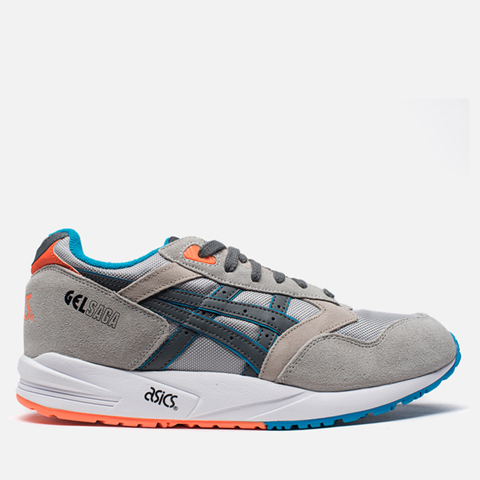 Мужские кроссовки ASICS Gel-Saga Soft Grey/Stil Water