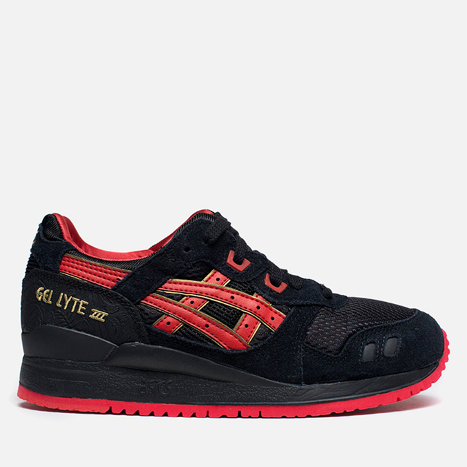 Женские кроссовки ASICS Gel-Lyte III Lovers&Haters Black / Black