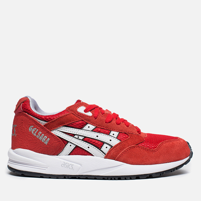 Женские кроссовки ASICS Women's Gel Saga Lovers&Haters Fairy Red / White