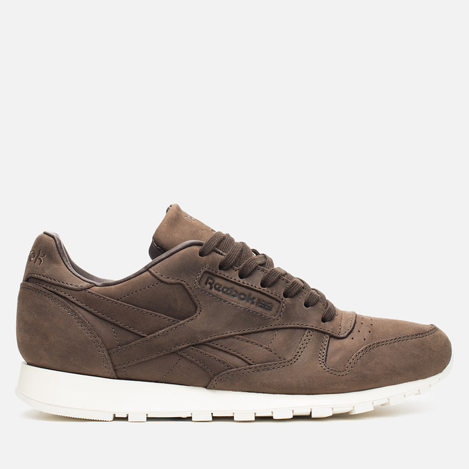 Мужские кроссовки Reebok Classic Leather Lux Earth/Chalk