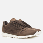 Мужские кроссовки Reebok Classic Leather Lux Earth/Chalk фото- 1