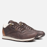 Мужские кроссовки Reebok Classic Leather Winter Earth/Brown Malt/White фото- 1