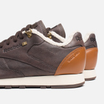 Reebok Classic Leather Winter Sneakers Earth/Brown Malt/White photo- 6