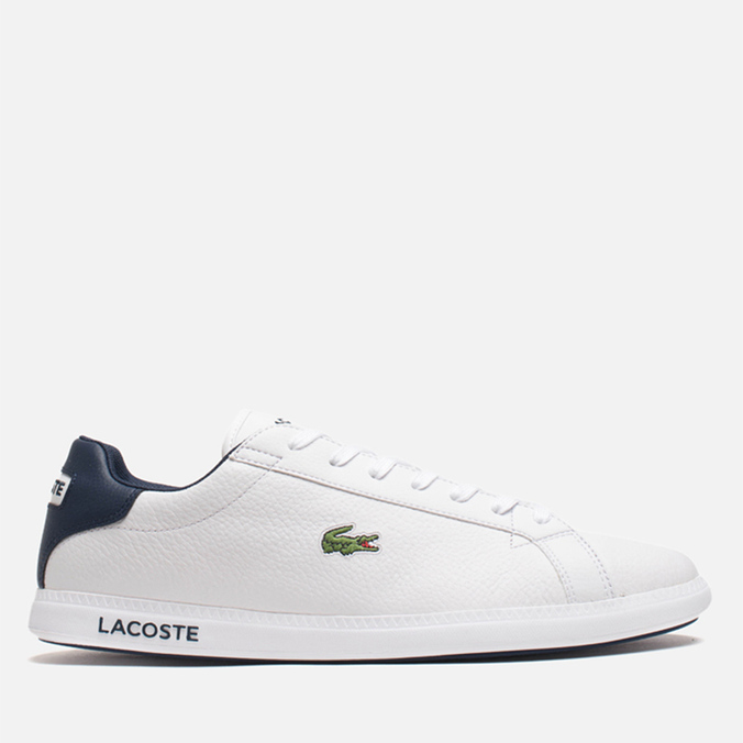 Мужские кроссовки Lacoste Graduate White/Dark Blue