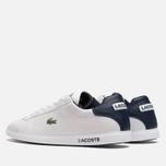 Мужские кроссовки Lacoste Graduate White/Dark Blue фото- 2