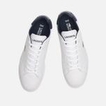Мужские кроссовки Lacoste Graduate White/Dark Blue фото- 4