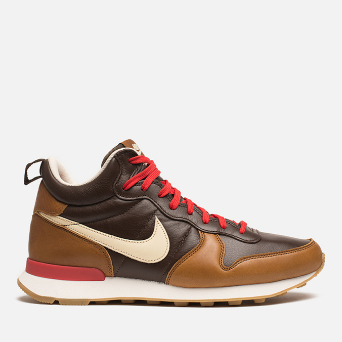 Мужские кроссовки Nike Internationalist Mid QS Baroque Brown/Flat Opal
