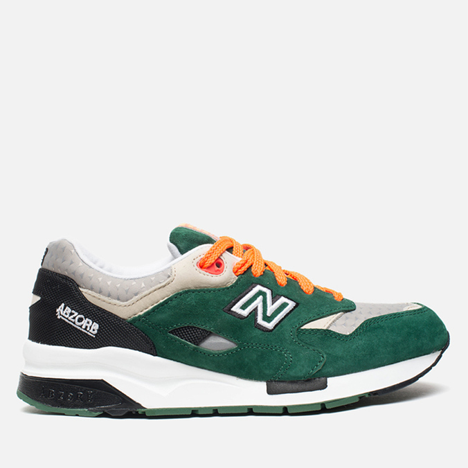 Мужские кроссовки New Balance CM1600LD/D Green/Grey/Orange