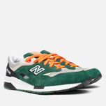 Мужские кроссовки New Balance CM1600LD/D Green/Grey/Orange фото- 1