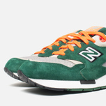Мужские кроссовки New Balance CM1600LD/D Green/Grey/Orange фото- 5