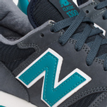 Мужские кроссовки New Balance M1300MD Moby Dick Light Navy/Teal фото- 7