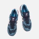 Мужские кроссовки New Balance M1300TR Lake Blue/White/Red фото- 4