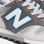 Мужские кроссовки New Balance M1300TT Grey/Blue фото- 7