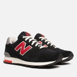Мужские кроссовки New Balance M1400HB Catcher in the Rye Black/Red фото- 1