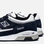Мужские кроссовки New Balance M1500NWG Navy/White фото- 6